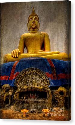Thai Golden Buddha Canvas Print