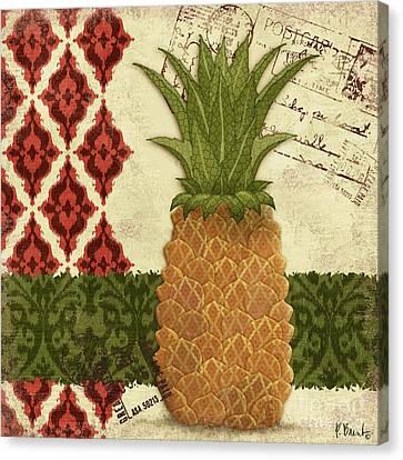 Thai Pineapple I Canvas Print by Paul Brent
