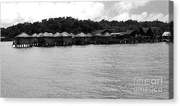 Thai Village Canvas Print by Andrea Anderegg