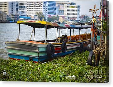Assia Canvas Print - Thailand Boat by Daniel Krieger