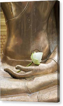 Thailand, Chiang Mai, Buddhist Temple Canvas Print by Tips Images