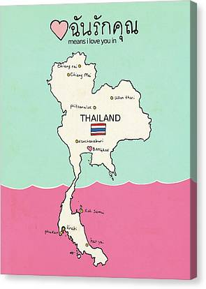 Thailand II Canvas Print