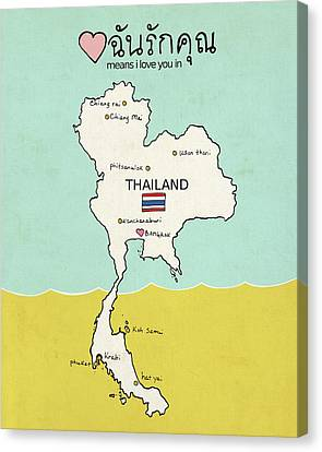 Thailand IIi Canvas Print