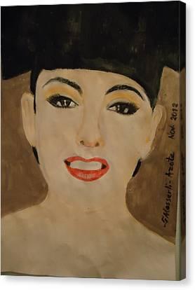 Thalia ....... Canvas Print by Fladelita Messerli-