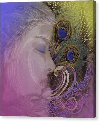 Profile Canvas Print - Thanee's Dream by Andrea Ribeiro
