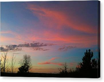 Canvas Print featuring the photograph Thankful For The Day by Linda Bailey