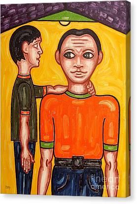 Thanks Dad Canvas Print by Patrick J Murphy