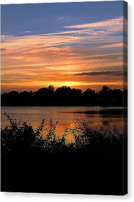 Canvas Print featuring the photograph Thanksgiving 002 by Chris Mercer
