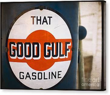 That Good Gulf Gasoline Canvas Print by Edward Fielding