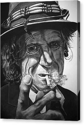 That Guy Looks Like Keith Richards Canvas Print