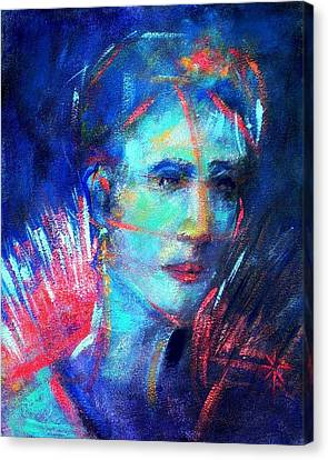 Canvas Print featuring the painting That Moment by Jodie Marie Anne Richardson Traugott          aka jm-ART
