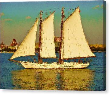 That Ship Canvas Print by Alice Gipson