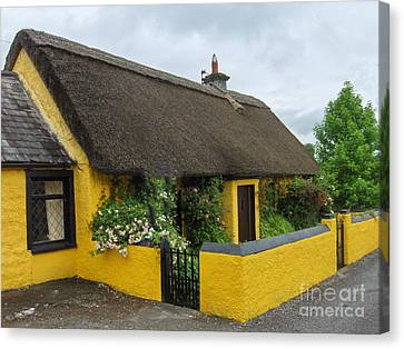 Thatched House Ireland Canvas Print by Brenda Brown