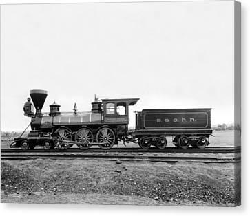 Thatcher Perkins Locomotive Canvas Print