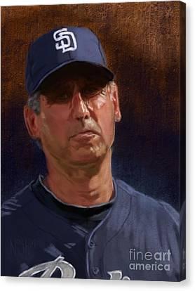 That's Baseball Canvas Print by Jeremy Nash