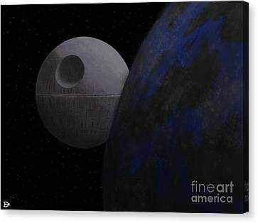 ...that's No Moon... Canvas Print by Andy Heavens