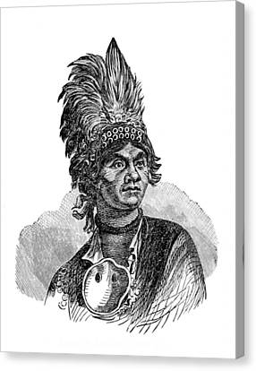 Thayendanegea, Joseph Brant, Mohawk Canvas Print