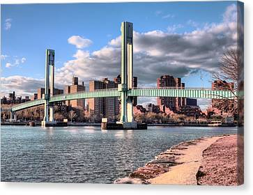 The 103th Street Bridge  Canvas Print by JC Findley