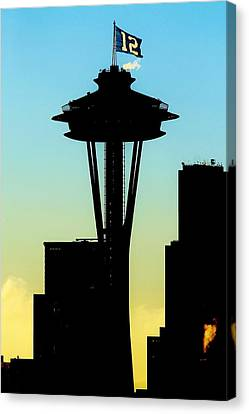 The 12th Needle Canvas Print by Benjamin Yeager