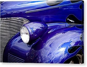 Chevy Coupe Canvas Print - The 1939 Chevy Coupe by David Patterson