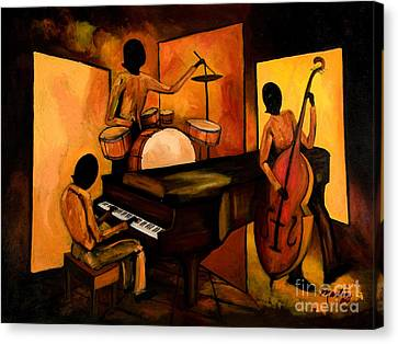 The 1st Jazz Trio Canvas Print