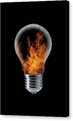 Warm Canvas Print - The 4 Elements I by Stefan Eisele