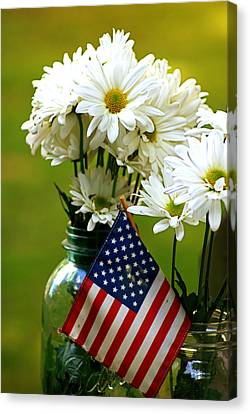 The 4th Of July Canvas Print