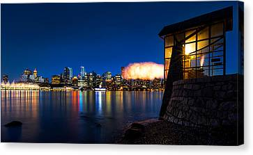 The 9 O'clock Gun Canvas Print