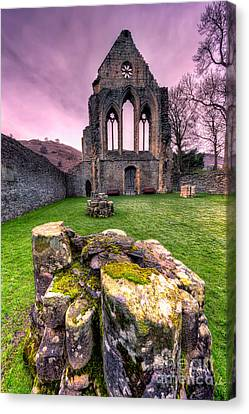 The Abbey  Canvas Print by Adrian Evans
