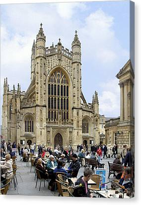 The Abby At Bath Canvas Print by Mike McGlothlen