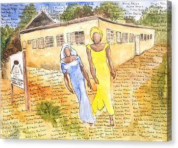 The Abducted Girls Of Chibok Canvas Print
