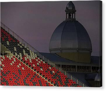 Ottawa Canvas Print - The Aberdeen Pavillion At Dusk. by Rob Huntley