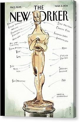 The Academy Award's Beauty Secrets Canvas Print