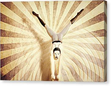 The Acrobat Canvas Print by Heike Hultsch