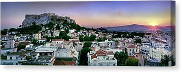 Athens Canvas Print by Rod McLean