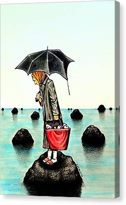 The Actions And Choices In Life Canvas Print by Paulo Zerbato