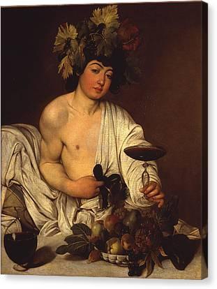 The Adolescent Bacchus Canvas Print by Caravaggio
