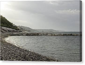 The Adriatic Sea In Abruzzo Canvas Print