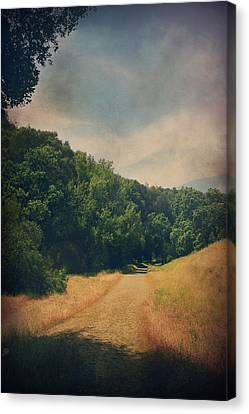The Adventure Begins Canvas Print by Laurie Search