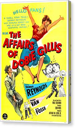 The Affairs Of Dobie Gillis, Us Poster Canvas Print by Everett