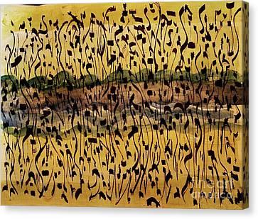 The Air We Breathe Canvas Print by Nancy Kane Chapman
