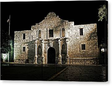The Alamo Canvas Print by Andy Crawford