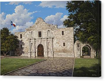 The Alamo Canvas Print by Kyle Wood