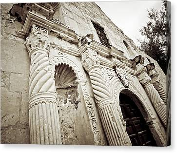 The Alamo Canvas Print by Linda Unger