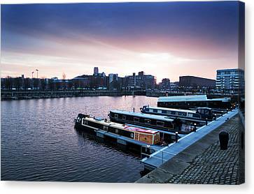 The Albert Dock, Liverpool, England Canvas Print