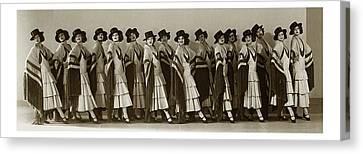The Albertina Rasch Girls In Rio Rita Canvas Print