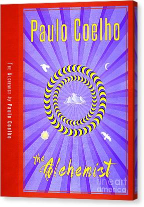 The Alchemist Book Cover Poster Art 2 Canvas Print by Nishanth Gopinathan