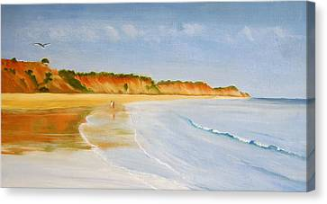 The Algarve Canvas Print by Heather Matthews