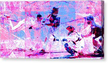 The All American Pastime 20140501 Long V2 Canvas Print by Wingsdomain Art and Photography