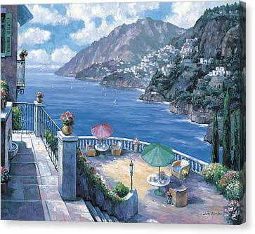 The Amalfi Coast Canvas Print by John Zaccheo